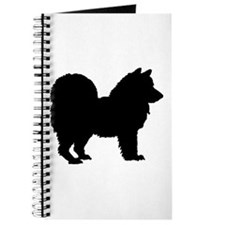 Chow Chow Silhouette Journal