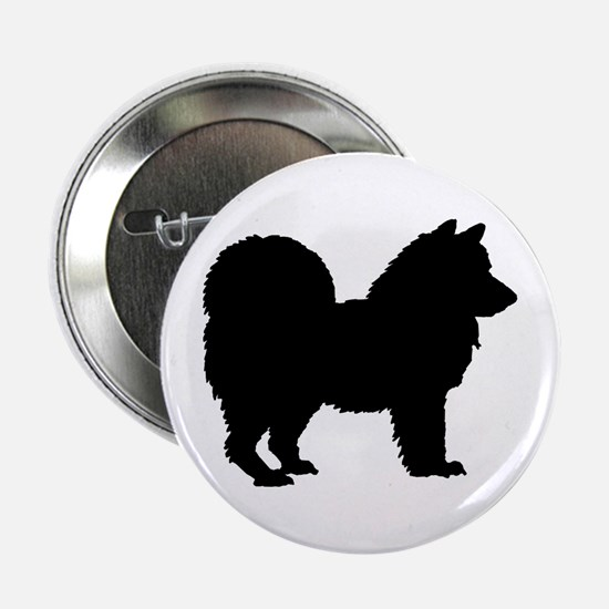 """Chow Chow Silhouette 2.25"""" Button"""