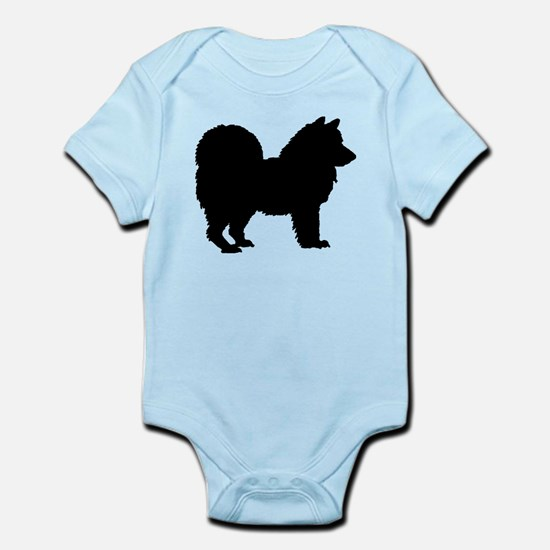 Chow Chow Silhouette Infant Bodysuit