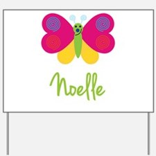 Noelle The Butterfly Yard Sign
