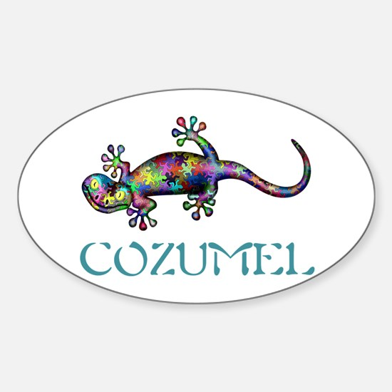 Gecko Sticker (Oval)