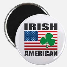 "Irish American Flag 2.25"" Magnet (10 pack)"