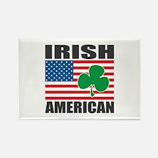 Irish American Flag Rectangle Magnet