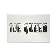 Ice Queen... Rectangle Magnet