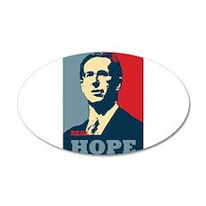 Rick Santorum New Hope 22x14 Oval Wall Peel