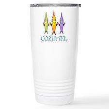 3-Fishes Travel Coffee Mug
