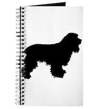 Cocker Spaniel Silhouette Journal