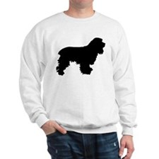 Cocker Spaniel Silhouette Sweatshirt