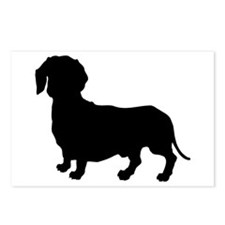 Dachshund Silhouette Postcards (Package of 8)