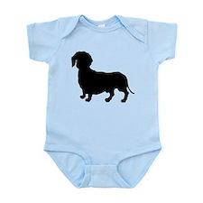Dachshund Silhouette Infant Bodysuit