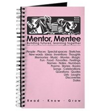 Mentor, Mentee Journal (Lt. Pink)