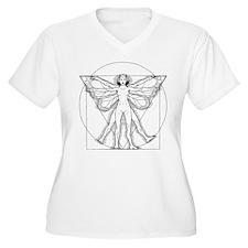 Vitruvian Fairy Women's Plus Size T-Shirt