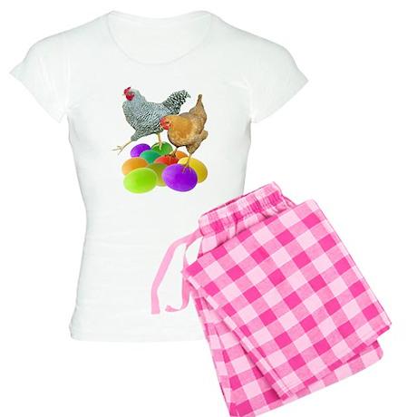 Chickens Colored Eggs Women's Light Pajamas