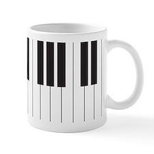 Piano Keyboard Small Mugs
