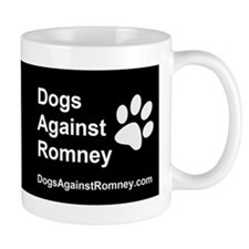 OFFICIAL Dogs Against Romney Coffee Small Mug