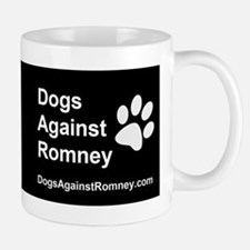 OFFICIAL Dogs Against Romney Coffee Small Small Mug