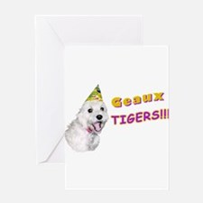 Geaux Tigers! Greeting Card