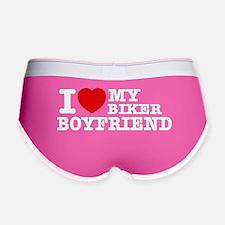 I love my Biker Boyfriend Women's Boy Brief