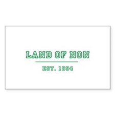 Property of Land of Non Decal