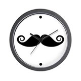 Moustache Basic Clocks