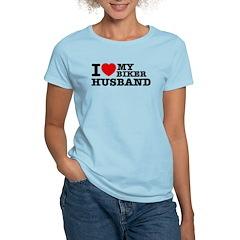 I love my Biker Husband T-Shirt