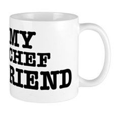 I love my Chef Boyfriend Small Mug
