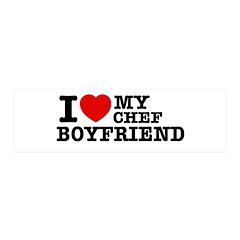 I love my Chef Boyfriend 21x7 Wall Peel