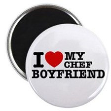 I love my Chef Boyfriend Magnet