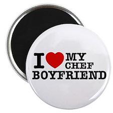 "I love my Chef Boyfriend 2.25"" Magnet (10 pack)"