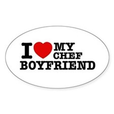 I love my Chef Boyfriend Decal