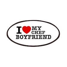 I love my Chef Boyfriend Patches