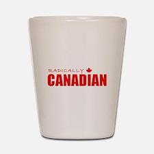 Radically Canadian by Tigana Shot Glass