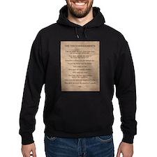 The Ten Commandments Hoodie