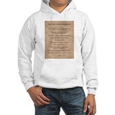 The Ten Commandments Jumper Hoody
