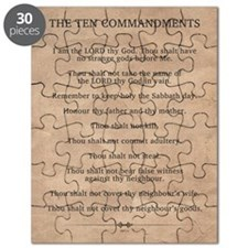 The Ten Commandments Puzzle