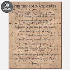 The Ten Commandments Puzzle