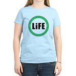 Life Begins At Conception Women's Light T-Shirt