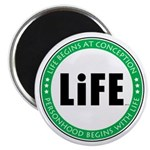 Life Begins At Conception Magnet