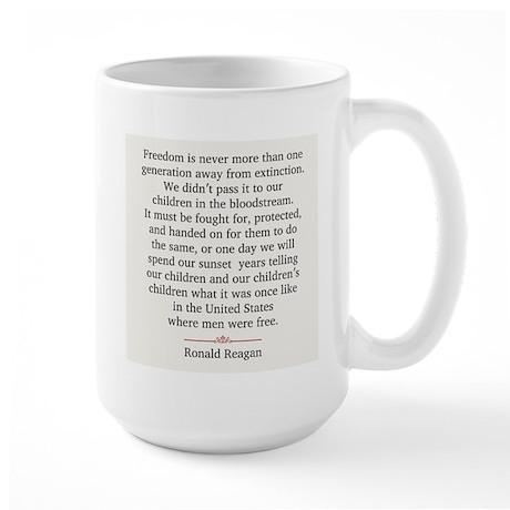 Ronald Reagan Large Mug