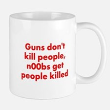n00bs are killers Small Small Mug