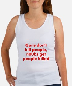 n00bs are killers Women's Tank Top