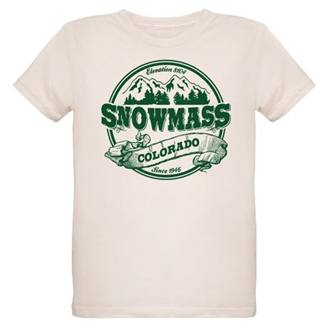Snowmass Old Circle Organic Kids T-Shirt