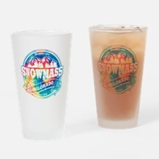 Snowmass Old Circle Drinking Glass