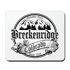 Breckenridge Old Black Mousepad