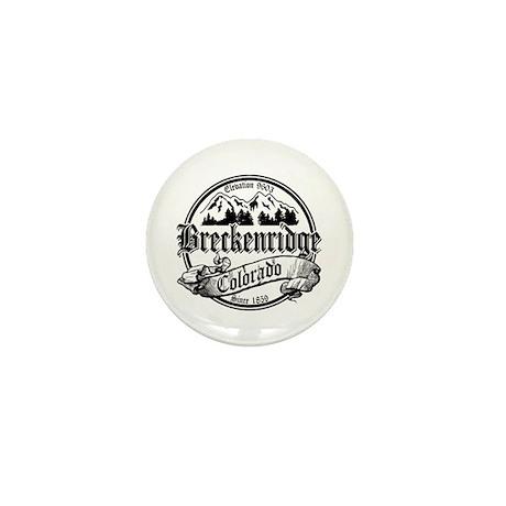 Breckenridge Old Black Mini Button