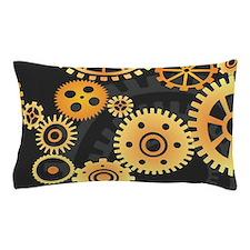 Gears Pillow Case