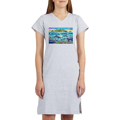 Dolphin Reef Women's Nightshirt