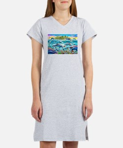 Dolphin Reef Women's Nightshirt