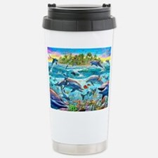 Dolphin Reef Stainless Steel Travel Mug