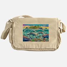 Dolphin Reef Messenger Bag